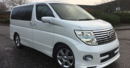 2005 FRESH IMPORT NISSAN ELGRAND HIGHWAY STAR 4WD AUTO 3.5 8 SEATS SUNROOF