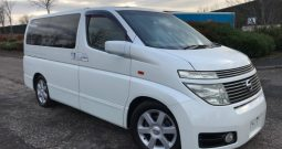 2003 FRESH IMPORT NISSAN ELGRAND HIGHWAY STAR 4WD AUTO 3.5 8 SEATS