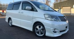 Toyota Alphard 2008 Fresh Import 2.4 VVTI Automatic G Edition 2WD 8 Seats