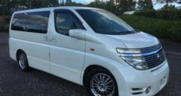 2004 FRESH IMPORT NISSAN ELGRAND HIGHWAY SEAR AUTO 3.5 8 SEATS 4WD