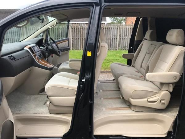 2007 Toyota Alphard Fresh Import 2.4 Automatic AX L Edition 8 Seats full