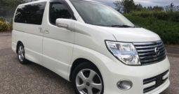 2006 FRESH IMPORT NISSAN ELGRAND HIGHWAY STAR 4WD AUTO 3.5 8 SEATS