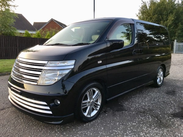 2003 FRESH IMPORT NISSAN ELGRAND RIDER AUTO 3.5 8 SEATS LEATHER full