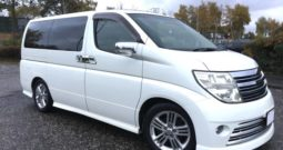 2005 FRESH IMPORT NISSAN ELGRAND RIDER 4 WD AUTO 3.5 8 SEATS SUNROOF