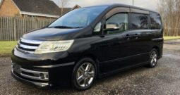 2008 Fresh Import Nissan Serena Rider Autech 2.0 L 8 Seats MPV Leather Interior