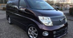 2008 Fresh Import Nissan Elgrand Highway Star 3.5 V6 Auto 8 Seat Red Leather Edition