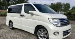 2009 Fresh Import Nissan Elgrand Rider 2.5 V6 Auto 4WD 8 Seat Leather