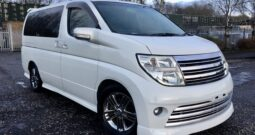 2006 Fresh Import Nissan Elgrand Rider Autech S Package 3.5 Auto 4 WD 8 Seats